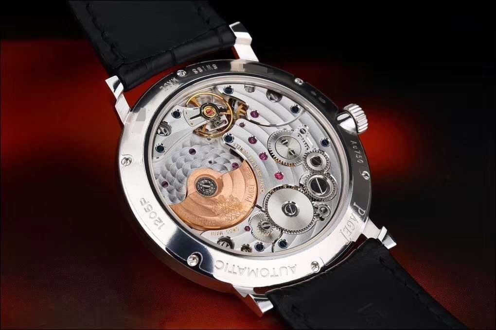 ALTIPLANO伯爵超薄系列G0A38130白金自动男士腕表 常州哪里高价回收伯爵手表