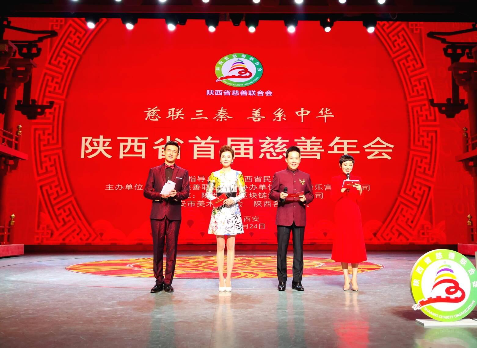 陕西省首届慈善年会在西安召开