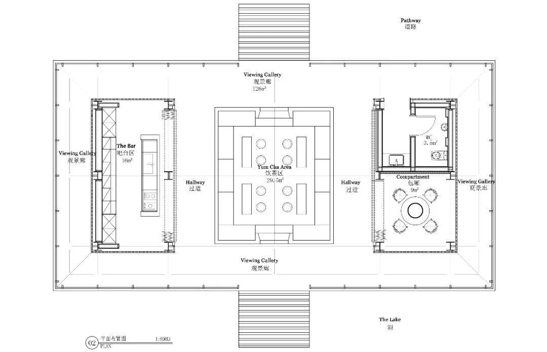 茶室平面设计图