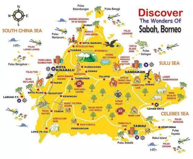 去沙巴跑步同时感受10个世界级的旅行体验!