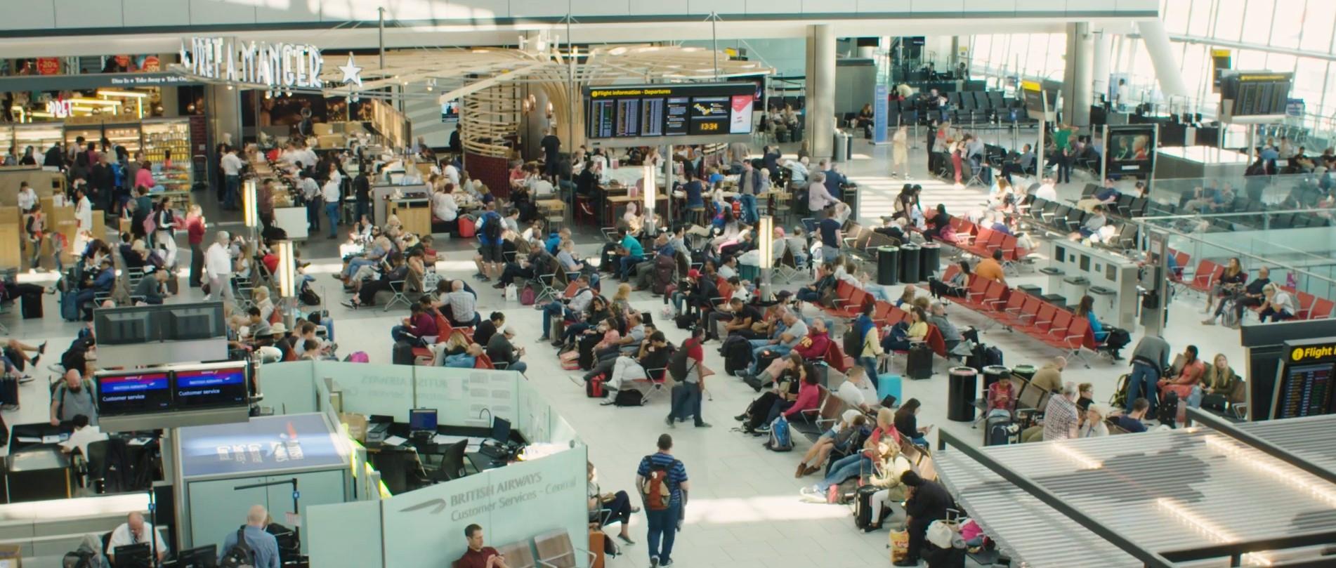 数字化转型 | 云计算助力希思罗机场减轻旅客压力