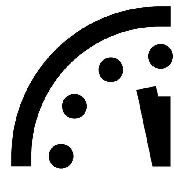 末日时钟只剩2分钟:世界正处于气候变化与核威胁的危险前夜