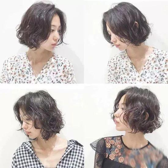 短发有什么发型图片图片