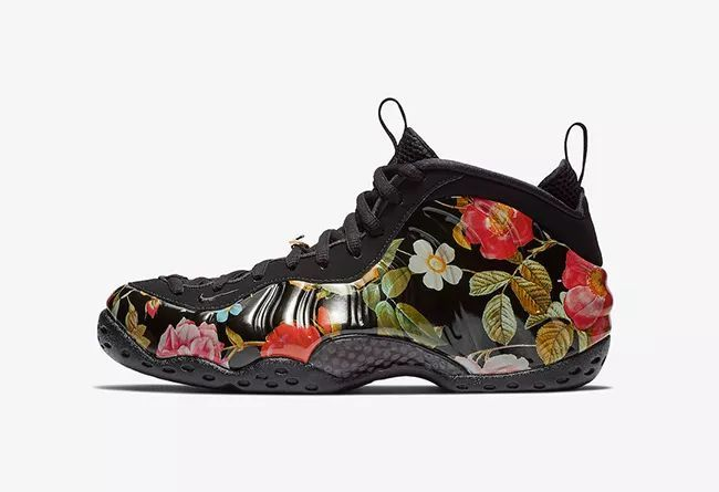 "Nike Air Foamposite One ""Floral""  货号: 314996-012 花卉喷"
