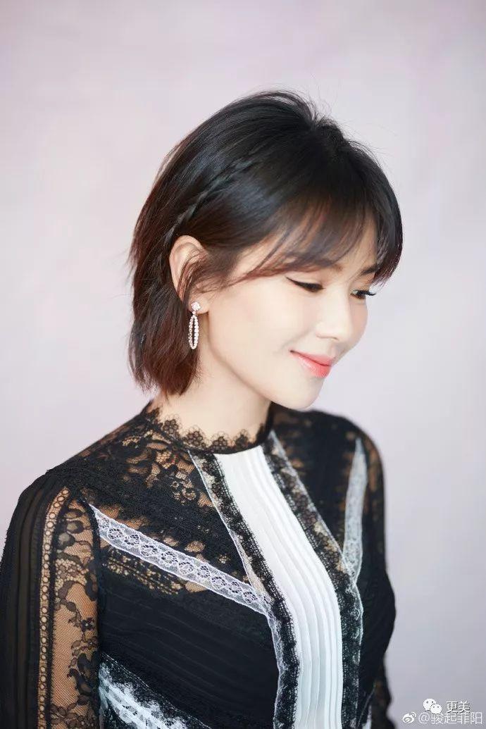 很多网友说,剪短发的刘涛看着和宋慧乔特别像,所长看的确有一些撞脸.