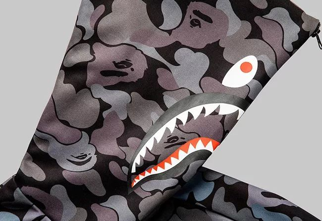 BAPE® x adidas 系列还有鲨鱼帽衫!联名 UB