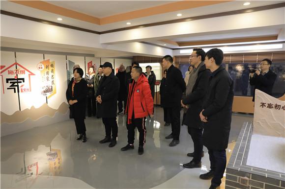 唐山施��得企�I文化�L廊揭幕�x式