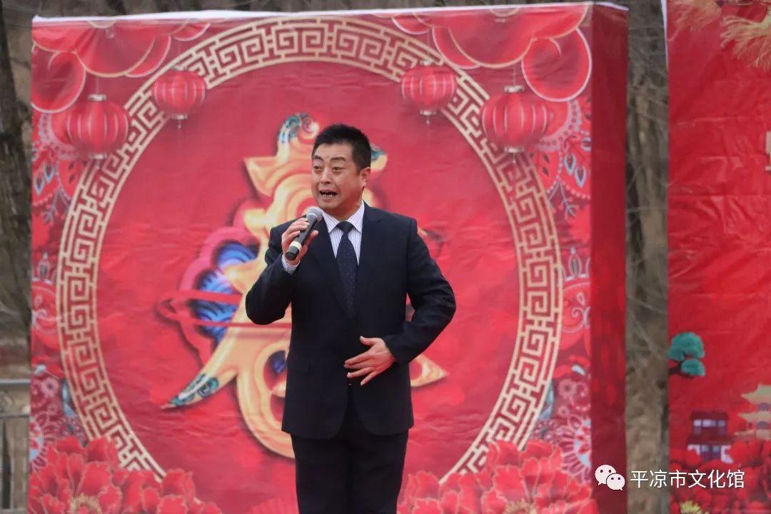 """""""我们的中国梦""""——文化进万家活动暨平凉市三馆""""红色"""