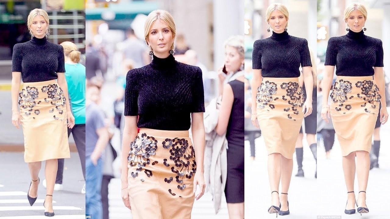 ivanka trump鞋_留园网-梅拉尼娅将紧身铅笔裙驾驭得如此完美,伊万卡穿同款都 ...