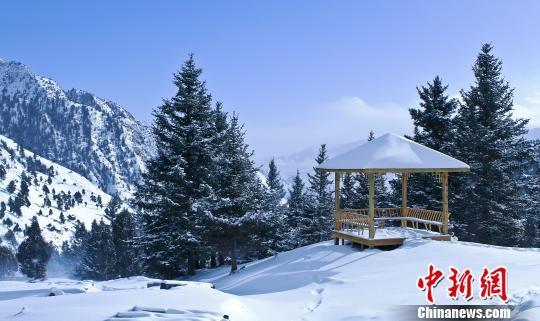 青海省乌兰县泥石流_青海哈里哈图国家森林公园雪景美若人间仙境_海西州
