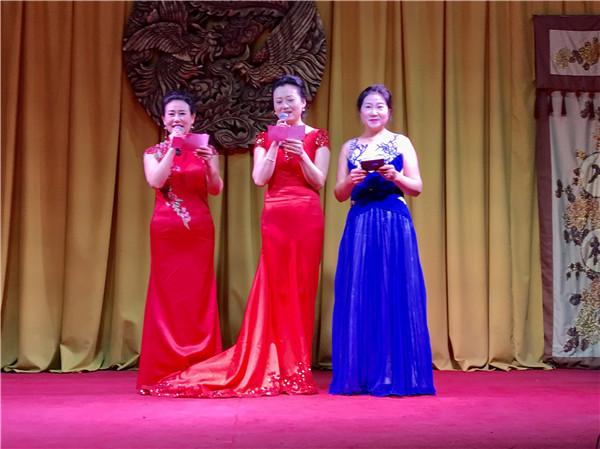 声动淮安阅读会受邀参加东方美旗袍协会年会