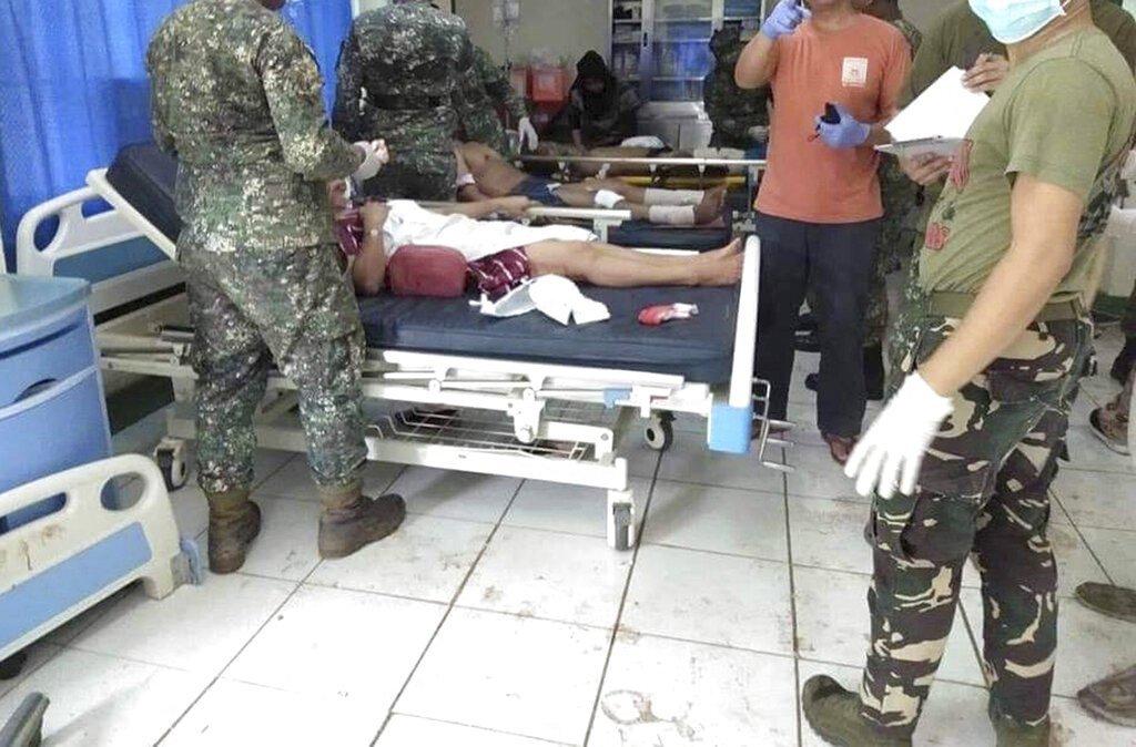 菲律宾苏禄省教堂发生爆炸 已致19死4
