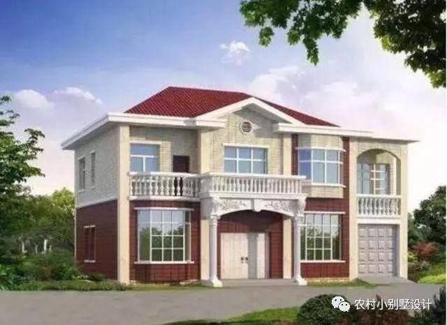 八角窗二层别墅设计图