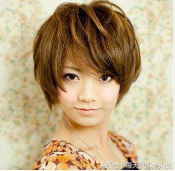 12款中年女人顯臉瘦的氣質短髮髮型! 形象穿搭 第9張