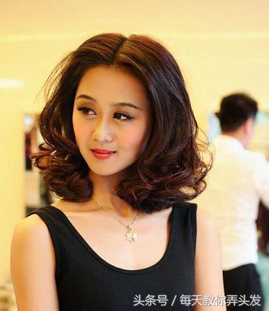 12款中年女人顯臉瘦的氣質短髮髮型! 形象穿搭 第3張