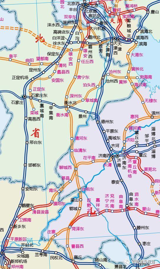 西华县高铁新城规划图