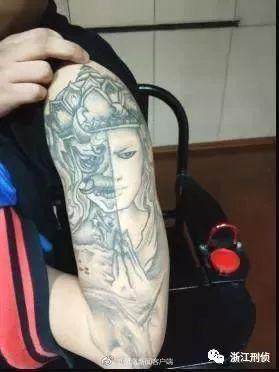 前有小猪佩奇身上纹,现有西游纹身社会人图片