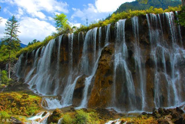 壁纸 风景 旅游 瀑布 山水 桌面 640_429