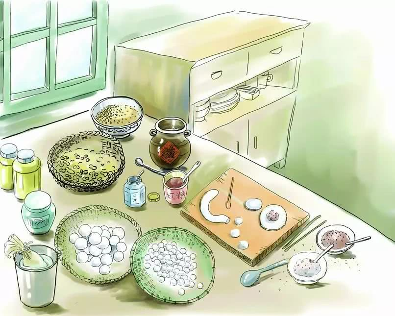 半个世纪前的过年 送灶神 包汤圆,回忆里浓浓的年味