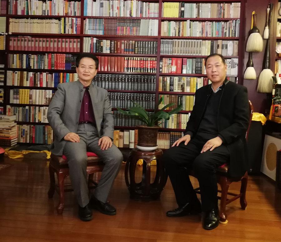 """书法是重建汉字文化圈的重要软实力——王岳川、李优良书法文化""""活化经典""""对话录"""