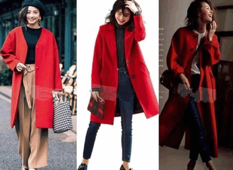 40歲的女性,新年如何打破冬季的沉悶感,時髦又搶眼 形象穿搭 第2張