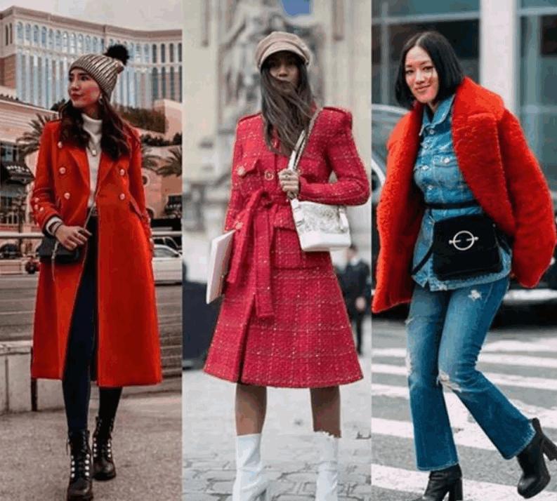 40歲的女性,新年如何打破冬季的沉悶感,時髦又搶眼 形象穿搭 第1張