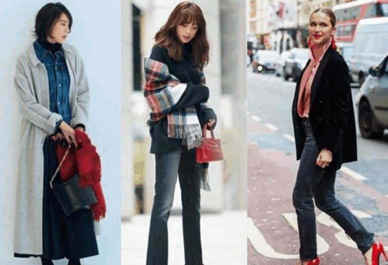 40歲的女性,新年如何打破冬季的沉悶感,時髦又搶眼 形象穿搭 第5張
