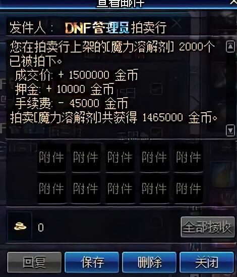 DNF:95版本百倍商机,如今只卖5金币,商人一天狂吃900页