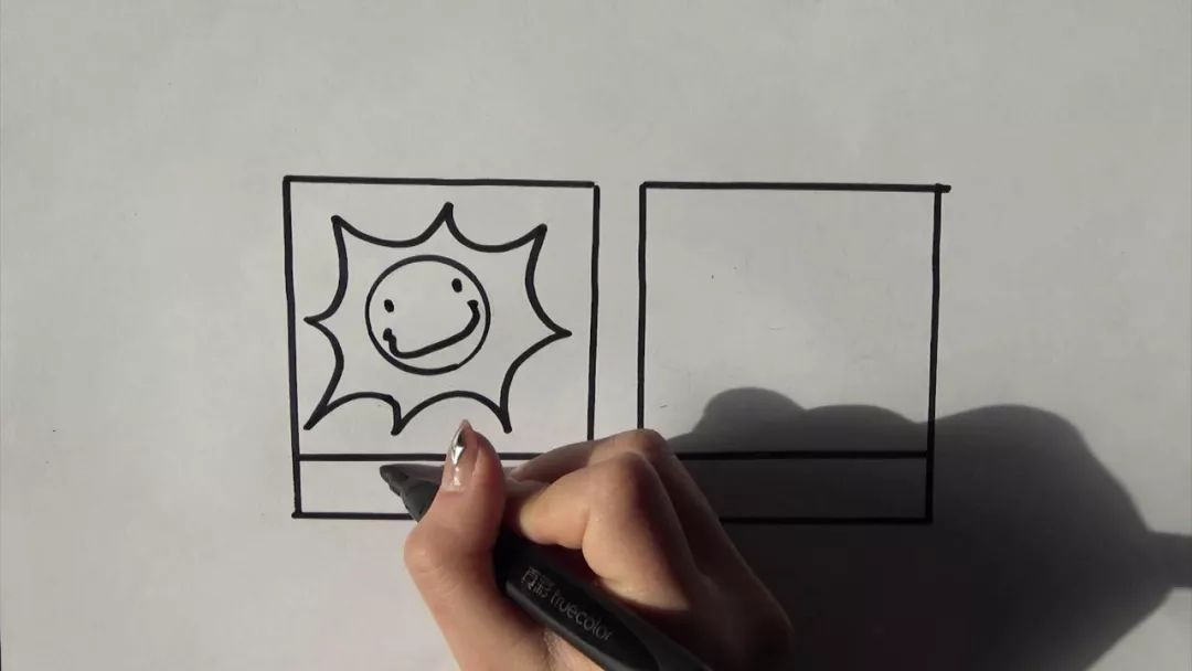 教宝宝学画简笔画 天气预报 丨来和 宝贝工作室 小朋友一起学习天气预报吧