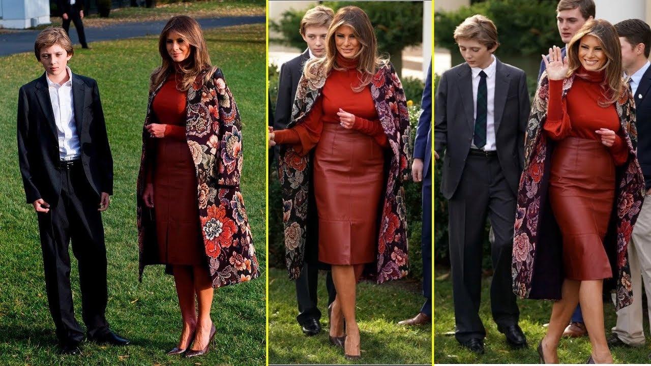 原創             將大衣披在肩上增加氣場我只服梅拉尼婭,就連高冷的貝嫂都比不上 形象穿搭 第2張