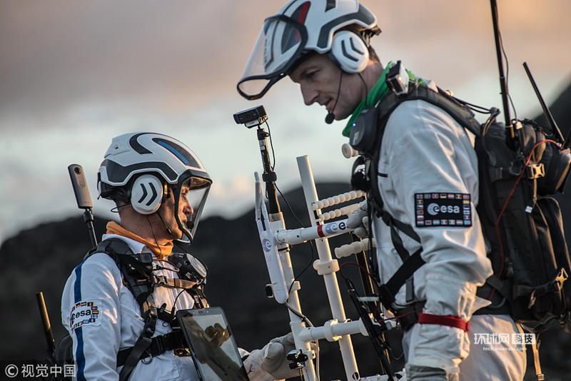 欧洲航天局曝光月球漫步模拟探索 拟2025年实现月球采矿