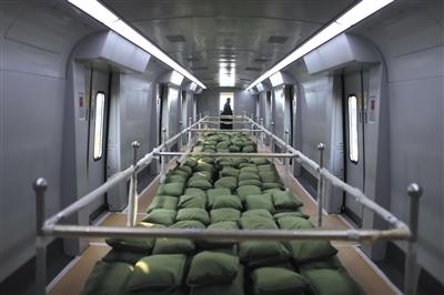 北京地铁新机场线试运行
