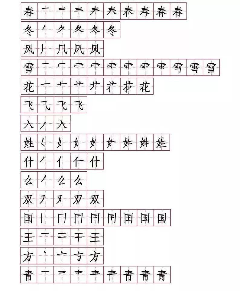万字居然这样写 语文老师怒了 这些汉字笔顺,家长别瞎教,十个错九个