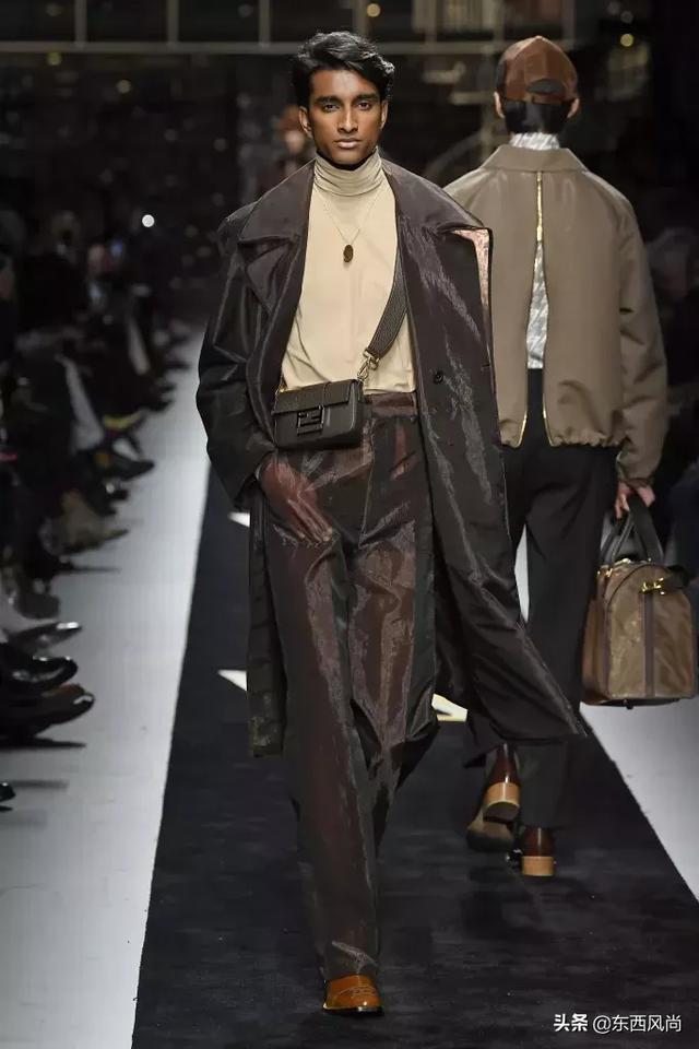 芬迪 (FENDI) 2019秋冬系列,很適合有趣的紳士穿 形象穿搭 第5張