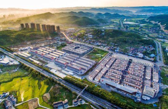 图为重庆市南川区东部新城效果图. 受访者供图