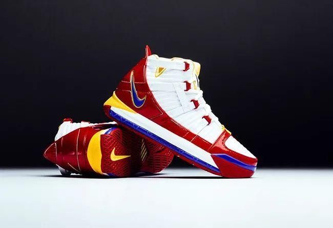 "Nike Zoom LeBron 3 SB""SuperBron""  货号:AO2434-100"
