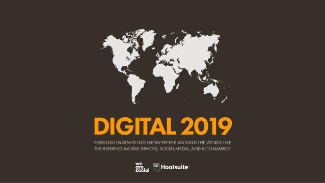 数字2019报告:西撒哈拉为全球互联网增速最快国家