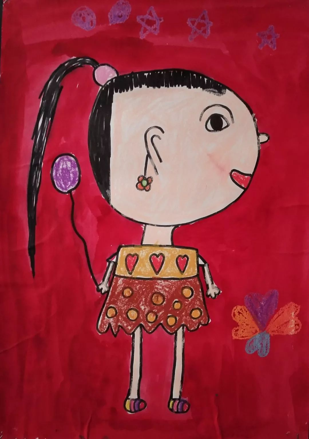 向日葵艺术幼儿园幼儿作品 第二十五期