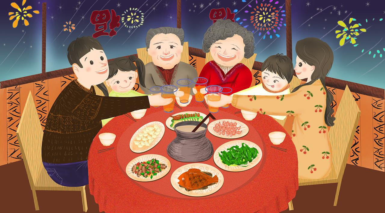 新年餐桌健康菜品 良配 ,让我们吃回健康