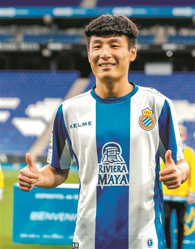 世界杯皮肤 武磊:将证明中国球员能踢五大联赛 有压力更有动力
