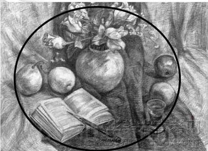 圆形构图图片