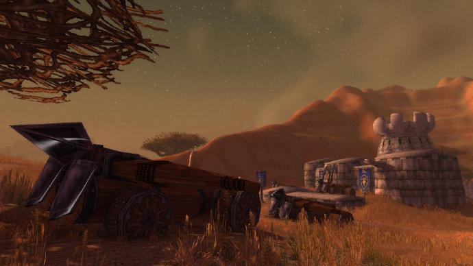 魔兽世界 艾泽拉斯游记第十五天 南贫瘠之地的任务都很经典