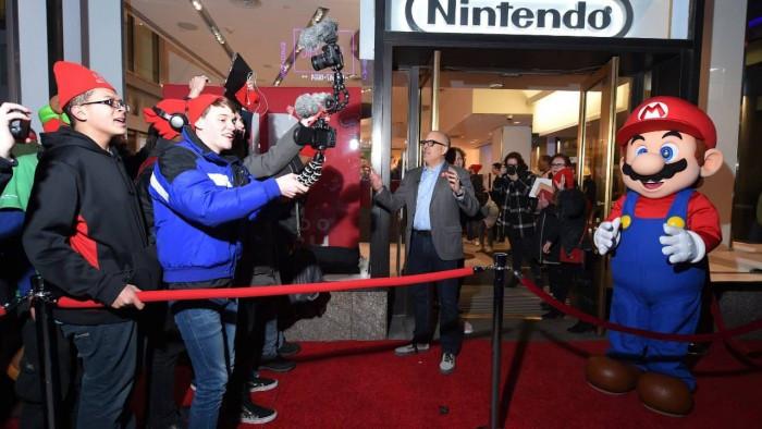 任天堂东京实体店预计在年底开业,想必日本的任天堂玩家在九年末