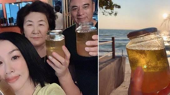 钟丽缇带家人泰国喝油排毒被群嘲,明星推荐的奇葩疗程纷纷遭打脸 作者: 来源:独家影视