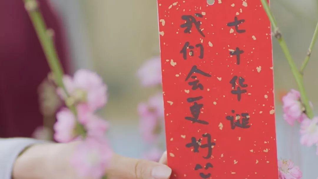 己亥有福丨这也许是今年春节最文艺范儿的拜年了