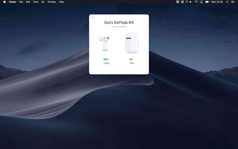 AirBuddy Mac 破解版 让你在 Mac 上更优雅地使用 AirPods-麦氪派(WaitsUn.com | 爱情守望者)