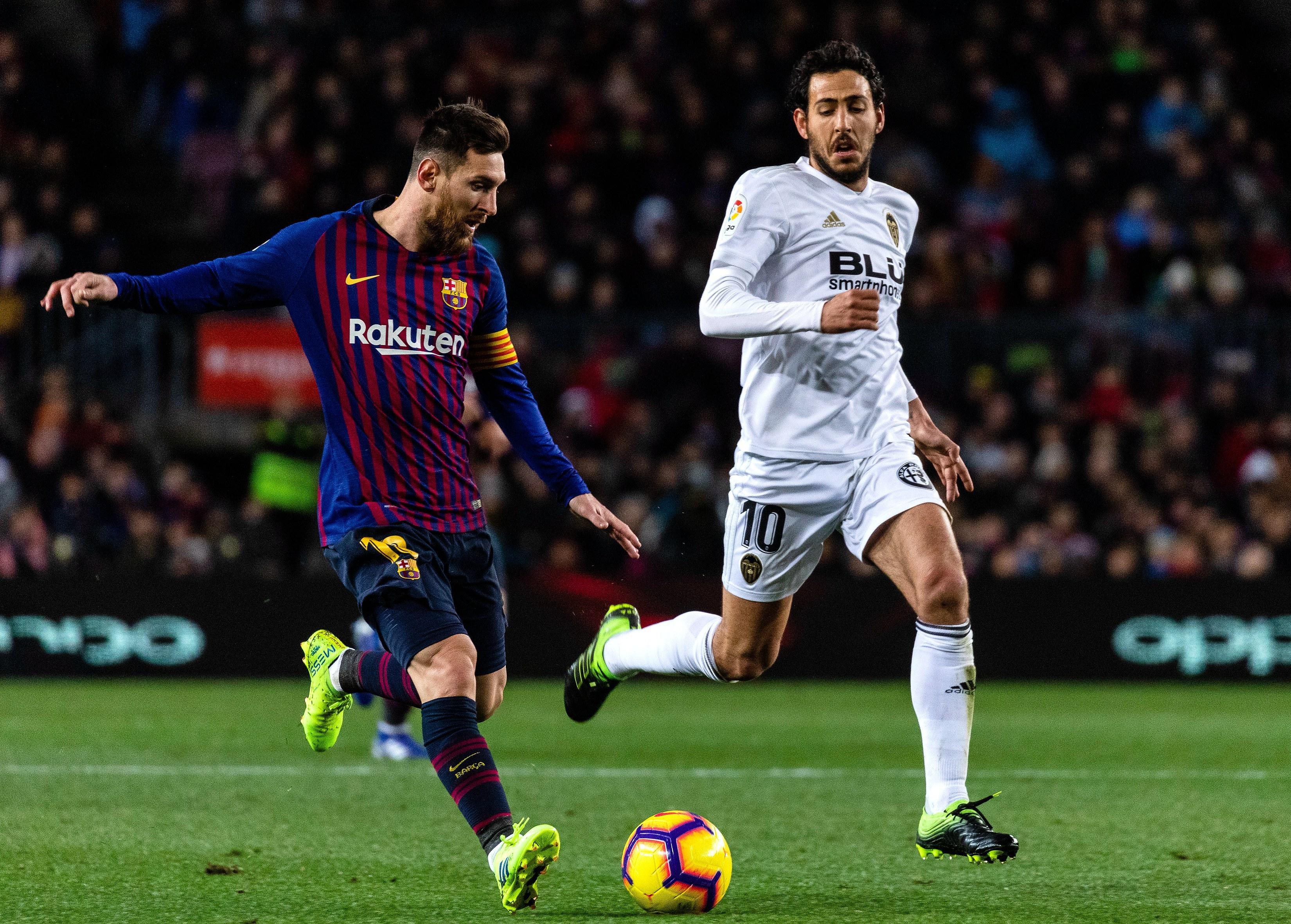 梅西在巴萨几号_足球——西甲:巴塞罗那战平巴伦西亚_巴塞罗那队