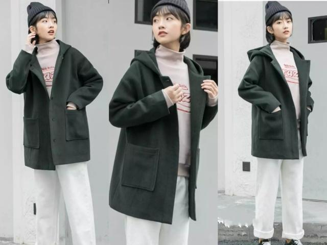 今年衛衣流行這樣穿,各種外套隨便搭,時尚又減齡!