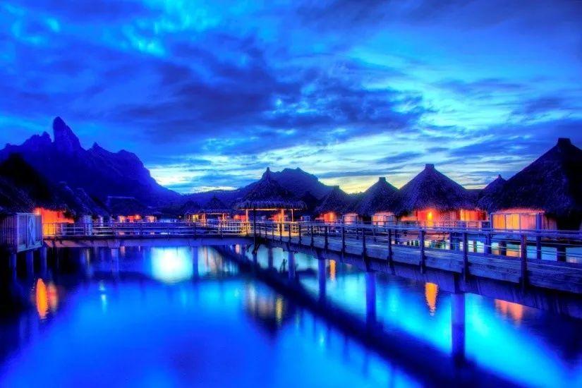 情人節來這個天堂海島度假,好嗨喲!_波拉波拉