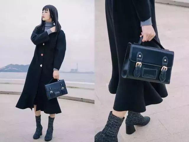 今年秋冬必备的小短靴,搭配对的裙子美太多了!